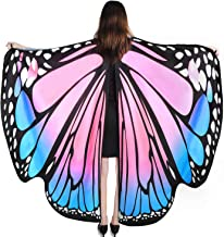 YXwin Halloween Costumes for Women Butterfly Wings Shawl Fairy Halloween Accessories