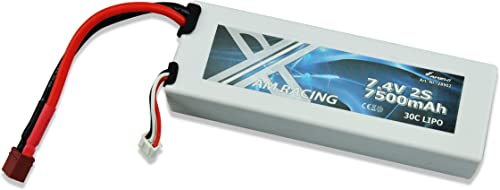 Amewi 28902–7, 4V 7500mAh 30C LiPo Batterie Dean Plug voiture Coque Rigide