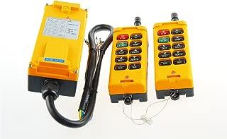 DC 12V 2 Transmitters 10 Channels Hoist Crane Radio Remote Control System