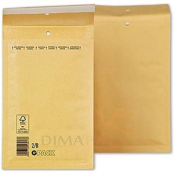 200 Luftpolsterumschl/äge 370 x 480 mm Luftpolstertasche K10 verschiedene Mengen w/ählbar braune Versandtasche DIN A3+