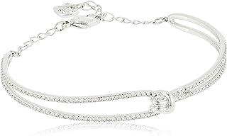 SWAROVSKI Women's Lifelong Bracelet Collection, Rose-Gold Finish, Rhodium Finish