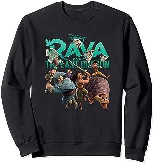 Disney Raya and the Last Dragon Characters Sweatshirt