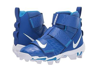 Nike Kids Force Savage Shark 2 Football (Toddler/Little Kid/Big Kid) (Game Royal/White/Photo Blue) Kids Shoes