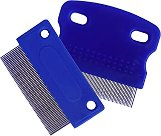zYoung 2 Pcs Dog Comb, Tear Stain Remover, Dog Eye Stain Remover, Dog Grooming Comb, Comb for Dogs, Gently Removes Mucus and Crust, Tear Stain Remover for Dogs, Pet Tear Stain Remover