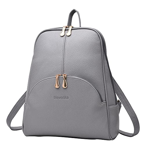 top-rated quality favorable price big discount sale Grey Leather Backpack: Amazon.com
