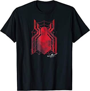 Marvel Spider-Man Homecoming Grungy Ink Logo Graphic T-Shirt