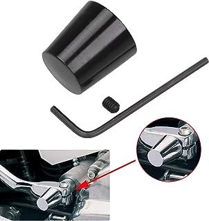 Black Aluminum Heel Shift Lever Eliminator For Harley Tour Glides Electra Glides Road Glides Street Glides & Trikes