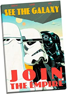 Panther Print Star Wars lienzo de propaganda decorativo de 30 x 50,8 cm tamaño grande, Soldados Imperiales