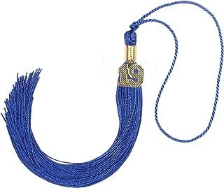 GraduationForYou Graduation Tassel with 19 Year Charm(Royal Blue)