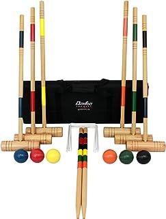 Baden Unisex-Adult Baden Deluxe Series Croquet Set G209-00, Multi/None, 1