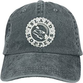 ISLAND HOPPERS - Magnum 80s Retro Tv Show Baseball Flag Cap Mesh Unisex Adult-one Size Snapback Trucker Hats Black