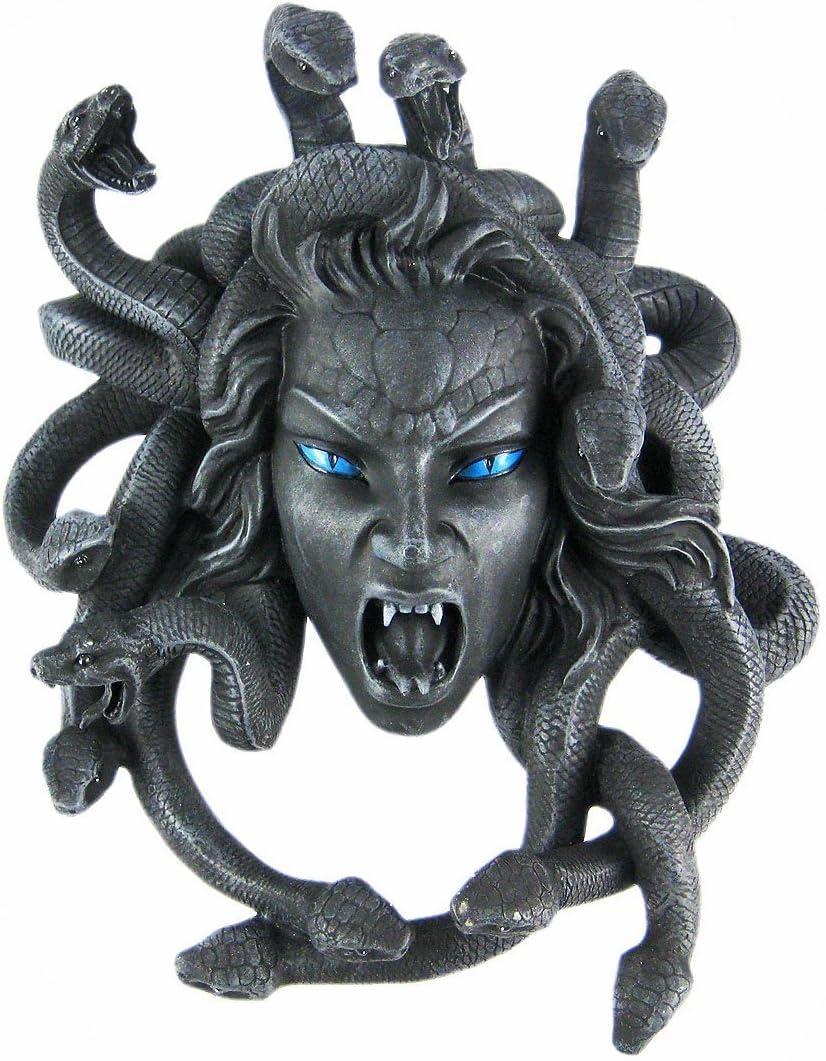 Things2Die4 Medusa Head Hanging Wall Plaque
