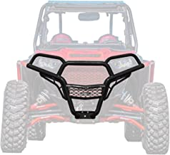 SuperATV Heavy Duty Front Brush Guard Bumper for Polaris RZR 900/4 900 / S 900 (2015+) - Wrinkle Black