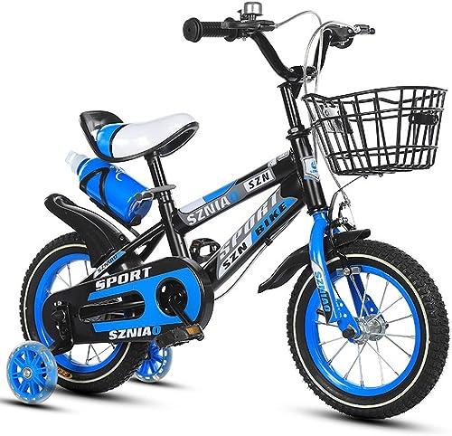 venta con alto descuento LXYFMS Bicicleta para Niños 16 Pulgadas, Cochecito Masculino y Femenino, Femenino, Femenino, 4-7 años de Edad, Bicicleta de Niño, Marco de Acero de Alto Carbono, naranja azul rojo Bicicleta para Niños  100% a estrenar con calidad original.