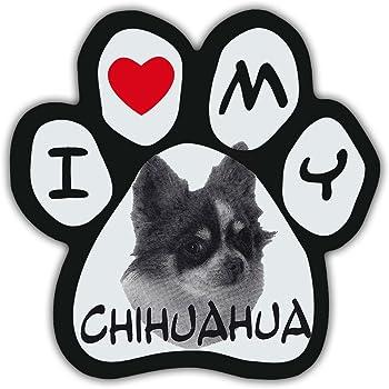 Refrigerators Trucks Dog Bone Magnet: I Love My ChihuahuaCars GIANT SIZE!!