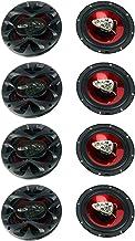$121 » Boss 6.5 Inch 300 Watt 3-Way Car Coaxial Audio Stereo Speakers CH6530 (8 Pack)