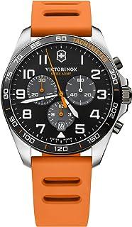 Victorinox - Hombre FieldForce Sport Chronograph - Reloj de Acero Inoxidable de Cuarzo analógico de fabricación Suiza 241893