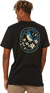 Swell Men's Early Bird Tee Short Sleeve Cotton Black