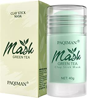 TOTCLEAR Green Tea Mask Stick Purifying Clay, Oil Control Anti-Acne, Natural Face Moisturizer, Deep Cleansing & Nourishing...
