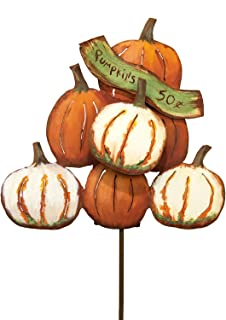 The Round Top Collection - Pile of Pumpkins - Metal