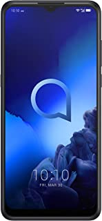 Alcatel 3X 5048U Dual SIM - 128GB, 6GB RAM, 4G LTE, Jewelry Black