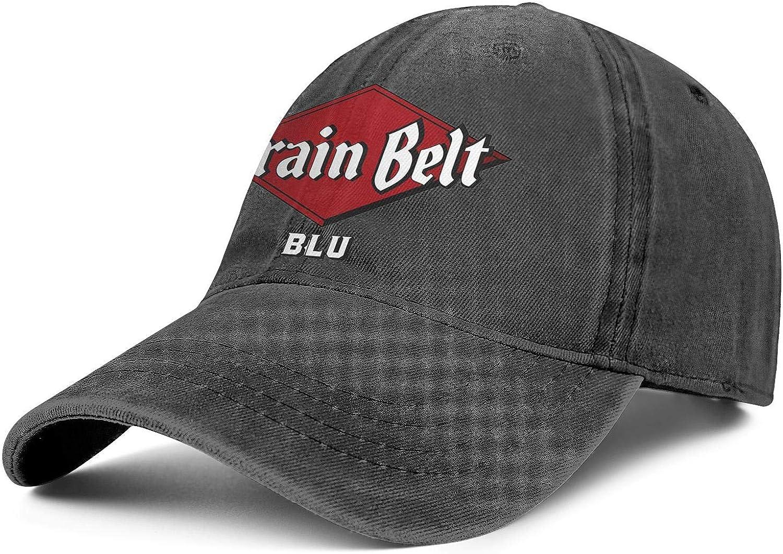 Mens Cowboy Cap Grain-Belt- Seasonal 2021new shipping free shipping Wrap Introduction Beer Adjustable Truck - Vintage Soft
