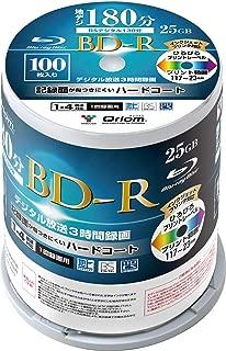 山善 キュリオム BD-R (1回録画用) (片面1層/1-4倍速/100枚スピンドル) 25GB BD-R100SP