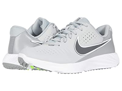 Nike Kids Alpha Huarache 3 Turf BG Baseball (Little Kid/Big Kid) (Light Smoke Grey/Iron Grey/Smoke Grey/White) Kid