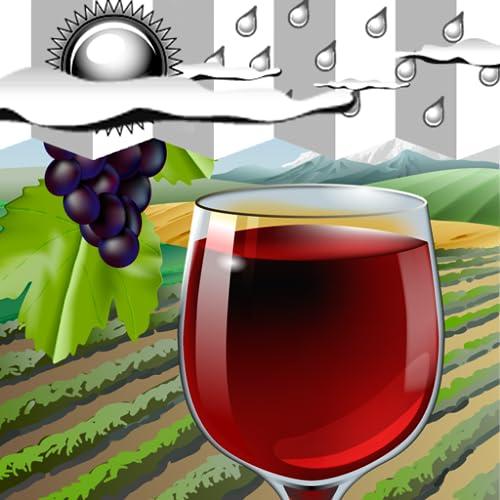 Uhr Wetter Widget Wein