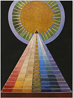Best hilma af klint poster guggenheim Reviews