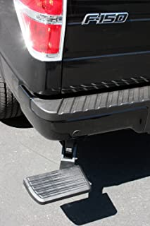 AMP Research 75302-01A BedStep Retractable Bumper Step for 2006-2014 Ford F-150 & Raptor (Excludes Flareside)