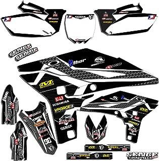2002-2014 YZ 85, Podium Black Complete kit, Senge Graphics, Compatible with Yamaha