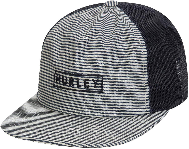 Hurley Mens M State Beach Hat Flat Cap