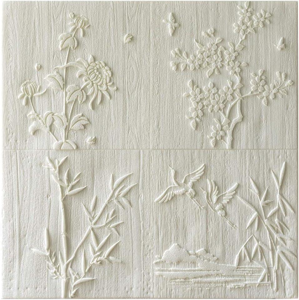 ZHANWEI 3D Wall Panels Waterproof F New Price reduction mail order Self-Adhesive Moisture-Proof