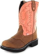 Justin Boots Damen Cowboy Stiefel L9907 Westernreitstiefel Lederstiefel Braun