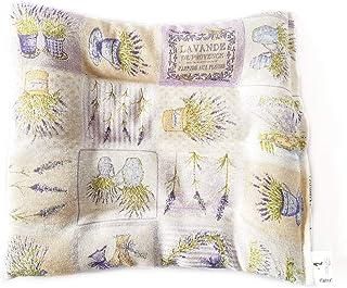 Decolores | Saco Térmico. Almohada de Frio y Calor lumbar. Cojín Térmico con aroma floral. (Diseño Marino)