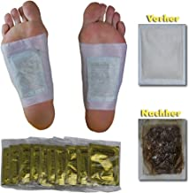 100 x Vita PatchyA Vital Plaster Gold with high-Quality Tourmaline Foot Patch Bamboo pad Estimated Price : £ 32,07