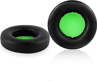 Razer Kraken V2 Earpads, JARMOR Replacement Memory Foam Ear Cushion Kit Pad Cover for Razer Kraken V2 Headphone ONLY – Rou...