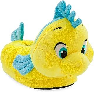 41aad3b5b80b Disney Flounder Plush Slippers for Kids - The Little Mermaid Multi
