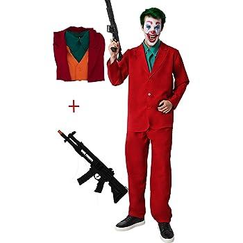 Glam Cos Joker - Disfraz de Joker para Cosplay Masculino - Joaquin ...