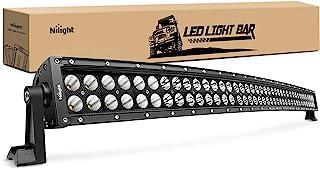 "Nilight 42"" 240W Spot Flood Combo High Power LED Driving Lamp LED Light Bar Off Road Fog Driving Work Lights for SUV Boat ..."