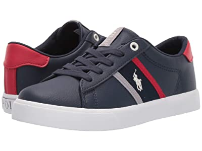 Polo Ralph Lauren Kids Geoff II (Little Kid) (Navy Tumbled/Navy/Red/Grey/Paperwhite Pony Player) Boy