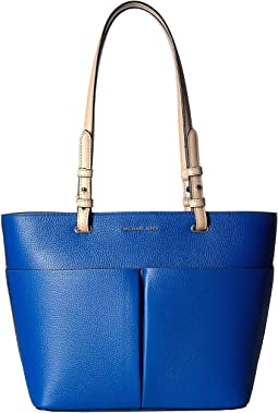 257767ffae8d MICHAEL Michael Kors. Bedford Medium Top Zip Pocket Tote. $198.00. New.  Grecian Blue