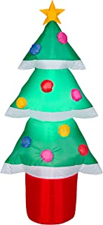 Gemmy Inflatable 4 FT Tall Christmas Tree Indoor/Outdoor Holiday Decoration
