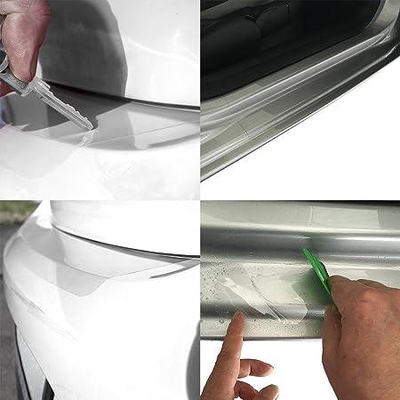 Tuneon Folienset Transparent Für Ladekanten Einstiegsleisten Für Sharan 7n Auto