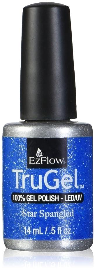 騒手つかずの平凡EzFlow トゥルージェル カラージェル EZ-42442 スタースパングルド 14ml