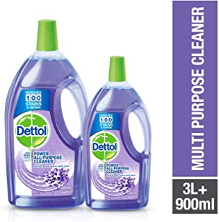 Dettol Lavender Healthy Home All- Purpose Cleaner 3LT + 900ml