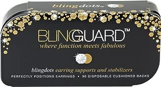 BlingGuard Bling Dots for Earrings in Base Metal