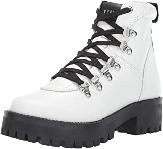 Women's BAM Hiking Boot, White Leather, 8 M US
