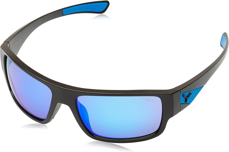 CEBE WHISPER SUNGLASSES (1500 GREY AR blueE FM LENS MATT BLACK blueE FRAME)
